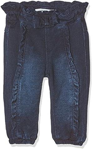NAME IT Nitalosa Reg/r Swe Dnm Pant F Nb, Jeans Bébé Garçon, Bleu (Dark Blue Denim Dark Blue Denim), 74