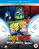 Dragon Ball Z Movie Collection Five: The Broly Trilogy (Blu-Ray+Dvd) [Edizione: Regno Unito] [Import italien]