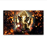 Ganesha Gods Canvas Paintings For Living Room Hindu Gods Home Decorative Pictures Wall Art Prints 50x80cm