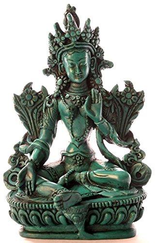 BUDDHAFIGUREN/Billy Held Diseño Buda Figuras - Verde