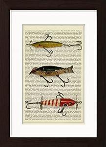 Vintage Fishing Lures 3 Print
