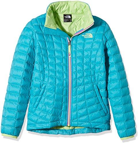 The North Face Mädchen Jacke G Thermoball Full Zip Jacket, Bluebird, XL, 0732075027056 (Jacken North Face Mädchen Für)