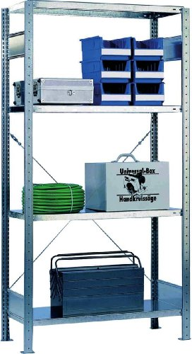 Preisvergleich Produktbild Gebr. Schulte Steckregal Grundfeld 200x100x60cm Schulte