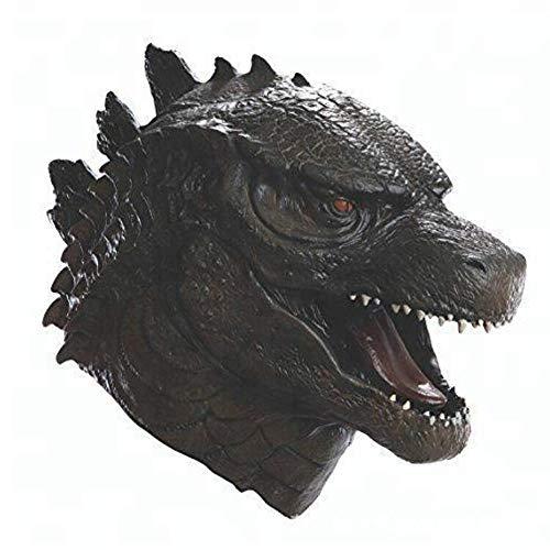 Für Godzilla Erwachsene Kostüm - Lydia's Anime Maske Godzilla Kopf Cosplay Maskerade Thema Party Film Leistung Requisiten A