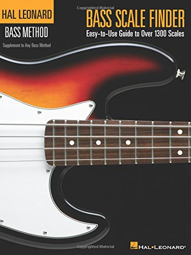 Bass Scale Finder: Easy-To-Use Guide to Over 1,300 Scales 9 Inch. X 12 Inch. Edition (Hal Leonard Bass Method) por Chad Johnson