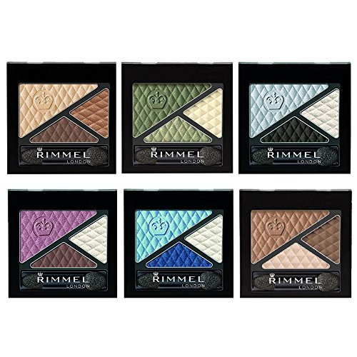 Rimmel Glam 'Eyes Trio Eye Shadow Set 6-Piece Collection by Beauty Brags