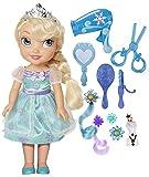 Disney - Frozen - Il Regno di Ghiaccio - Fai Elsa bambola bambino acconciatura