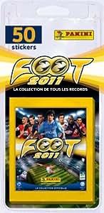 Panini France - 1657-038 - Jeu de Société - Foot 2011 - Blister de 10 Pochettes Stickers