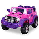 Kinder Elektroauto Jeep Pink Girly JJ235 Elektro Kinderauto Kinderfahrzeug