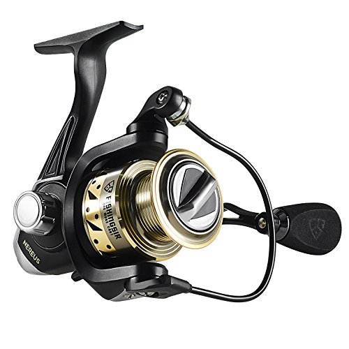 FISHINGSIR Nereus Spinning Angelrolle 9+1 BB Leistungsstarke Drag System Ultra Smooth Spinnrollen Salzwasser