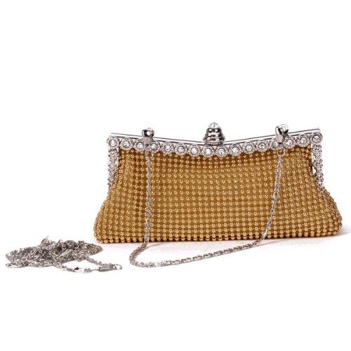Damara, Poschette giorno donna Argento (argento)