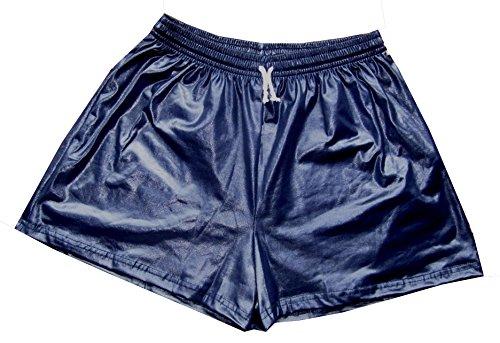 G & T Originals Herren Wet-Look-Shorts, kurz Gr. Large, navy