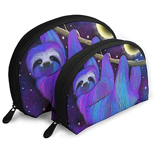 Moonlight Makeup Bag Set für Reise & tägliche Aufbewahrung - Shell Shape Handy Cosmetic Pouch