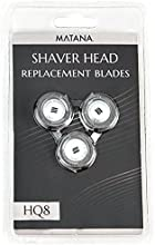 MATANA doble precisión HQ8Norelco cabezales de afeitado de repuesto para afeitadora Philips