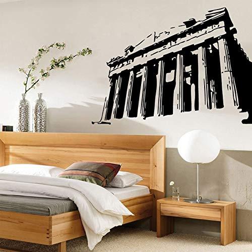 hllhpc Wandtattoos Vinyl Aufkleber Aufkleber Kunstwandhauptdekor Für Wohnzimmer Altes Denkmal Design57 * 42 cm (Einladungen Die Personalisieren Sie)
