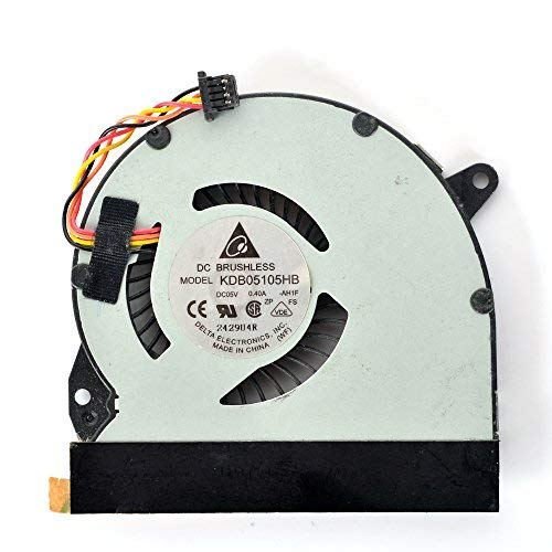 eathtek Ersatz-CPU-Lüfter für ASUS Eee Pad Slate EP121B121B121-1A031F Serie, kompatible Teilenummer KDB05105HB -
