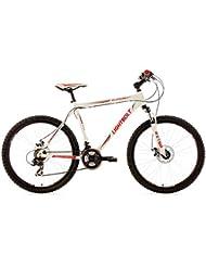 KS Cycling Uni Fahrrad Mountainbike Hardtail 26 Zoll Lightbolt RH 51 cm, Weiß, 26, 151M