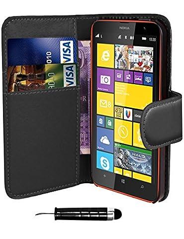 Lcd Nokia 1520 - Nokia Lumia 1520–QUALITÉ Premium Étui portefeuille à