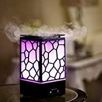 200ml Aroma Diffuser - Ultraschall Diffuser Luftbefeuchter Oil Düfte Humidifier LED Licht mit 7 Farben, Humidifier... preisvergleich bei billige-tabletten.eu