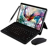(2019) Tablette Tactile 10 Pouces IPS/HD - 3Go RAM 64Go ROM 4G Android 8.1 Tablet PC Quad Core Batterie 8000mAh Double SIM Double Caméra WiFi,Bluetooth,GPS,OTG (Noir)