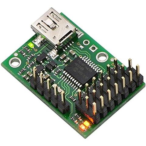 Contrôleur de Servos Mini Maestro USB 6 canaux (assemblé)