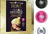 Earebel Solokit Kopfhörer - Strick dir deine eigene Kopfhörermütze (schwarz)