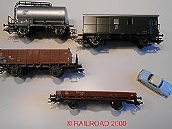 Märklin - 4 Güterwagen Der Db Aus 29711