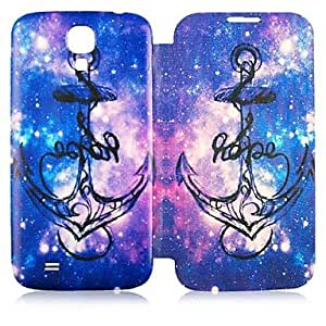 CaseBox Colorful Anchor Pattern Full Body Case for Samsung Galaxy S4
