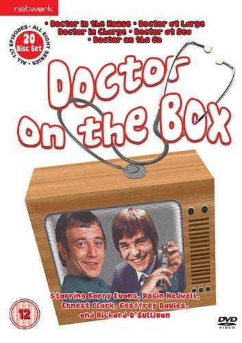 Preisvergleich Produktbild Doctor on the Box set: Doctor in the House,  Doctor at Large,  Doctor in Charge,  Doctor at Sea,  Doctor On the Go [UK import,  Region 2 PAL format]
