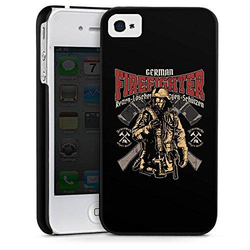 Apple iPhone 6s Hülle Case Handyhülle Feuerwehrmann Feuerwehr Firefighter Premium Case glänzend