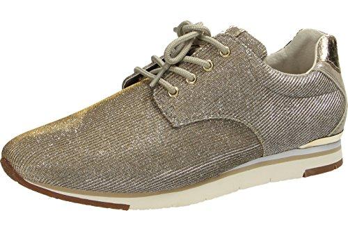 Gabor  Gabor Damen Sneaker, Chaussures de ville à lacets pour femme gris gris Gris