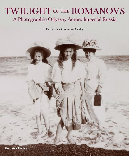 Twilight of the Romanovs: A Photographic Odyssey Across Imperial Russia by Philipp Blom (4-Mar-2013) Hardcover