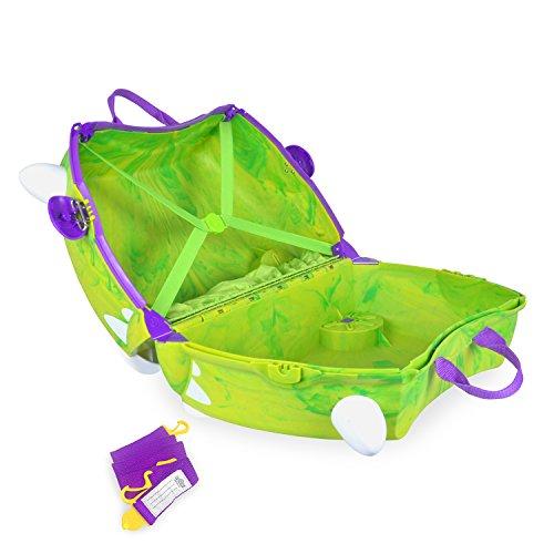 Trunki Ride-on Suitcase – Trunkisaurus Rex (Green)