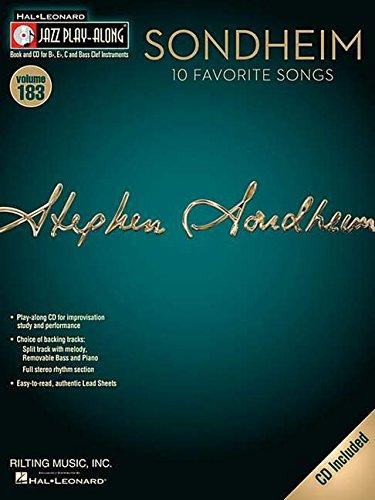 Sondheim Clarinette +CD (Jazz Play-along)