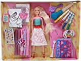 Munchkin Land Doll Set with Color Painting Fashion Studio