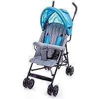 Passeggino Leggero per Bambini Trupia Stroller Grigio/Azzurro