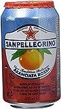 San Pellegrino Aranciata Rossa Eau Minérale Bouteille 6 x 33 cl