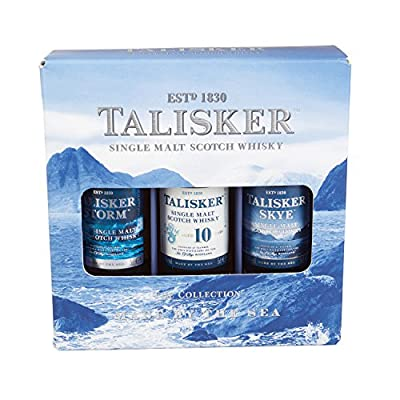 Talisker Single Malt Whisky Miniature Gift Set (contains 3 x 5cl bottles)