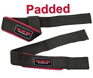Sangles Sangles main Sangles de levage de poids Dead Lift élévateur de puissance Body Building Sangles de poignet en coton pour exercices fitness