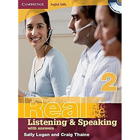 Cambridge English Skills Real Listening and Speaking 2 with Answers and Audio CD by Sally Logan