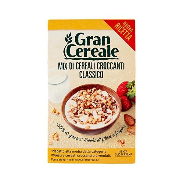 Gran Cereale Cereali Croccanti Classici, Ricchi di Fibra e Fosforo - 330 g 1 spesavip