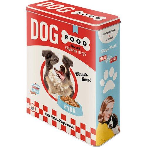 Nostalgic-Art 30325Animal Club Dog Food, tarro XL