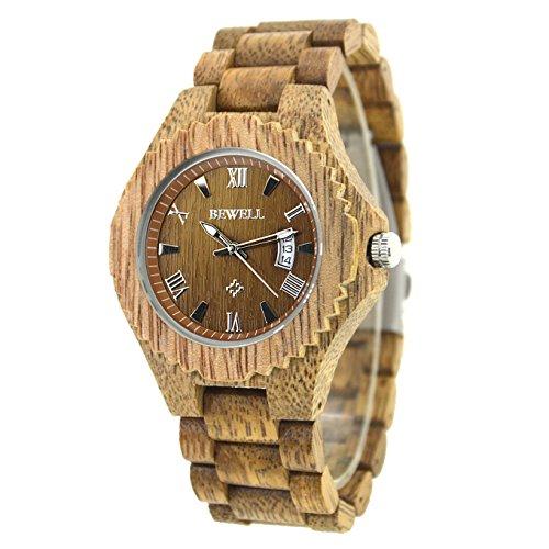 bewell-orologi-analogici-a-quarzo-degli-uomini-orologio-da-polso-naturale-di-lusso-calendario-w129a-
