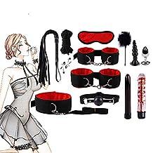 Kit Set Handboeien Footcuff Whip Massager Blinddoek Massagers