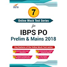Disha Publication 7 Online Mock Test Series for IBPS PO Prelims and Mains 2018 (Email Delivery in 2 Hours - No CD)