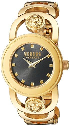 Versus Versace Carnaby Street SCG090016, Orologio da polso Donna , Nero (Nero/Oro)