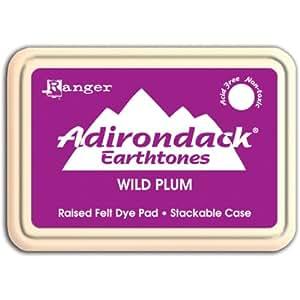 Ranger Wild Plum Adirondack d'encre Pad, Violet