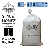 #5: Style Homez 1 Kg Premium Bean Bag Refill for Bean Bags
