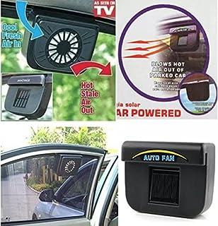 Dragon Honor Solar Powered Window Heat Fan Ventilator AUTO Cool Pets AIR Vent CAR Vehicle Van