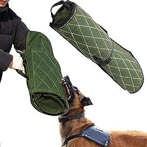 CHENGL Kit de Dressage pour Chien, Manche de Protection pour Bras, Manche de Morsure, poignée de Dressage pour Chien (pour Bras Gauche et Droit)